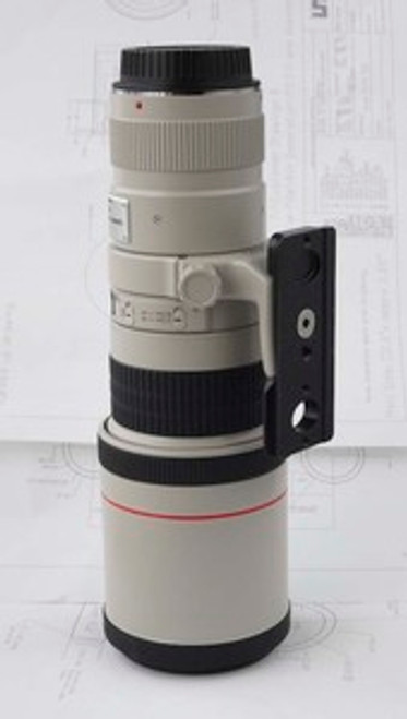 "Custom Lens Plate: Canon 400mm, 5.6 & ""A"" collar"