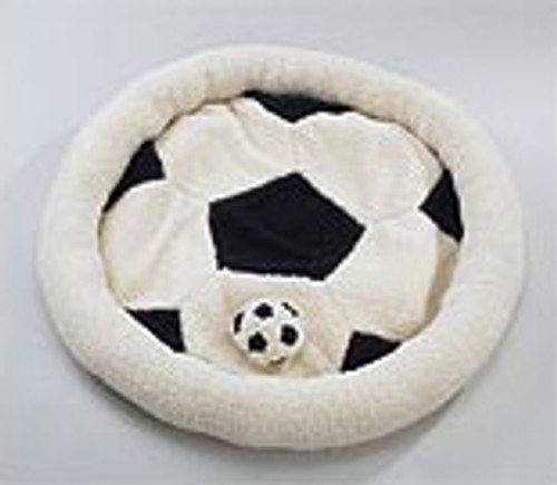 Soccer Sports Bed with Matching Toy