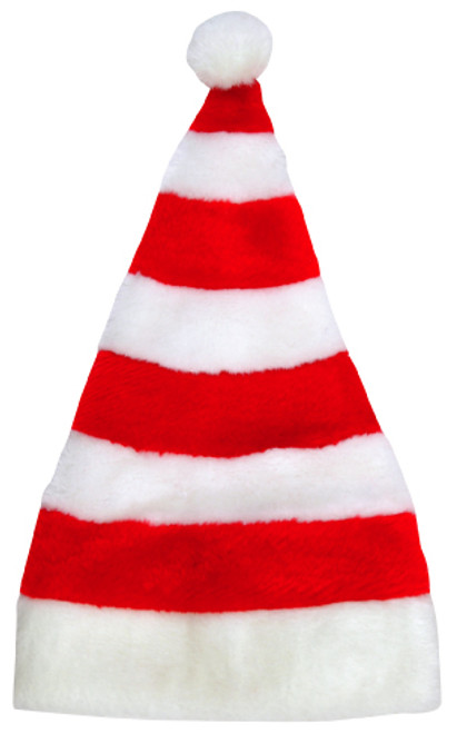 Striped Holiday Hat