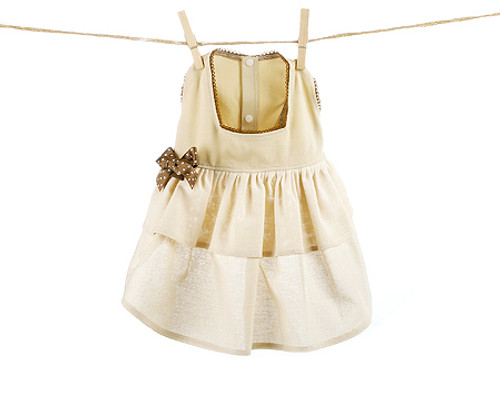 Beige Dress Picture Collection: Louis Dog Collection, Pet Dress