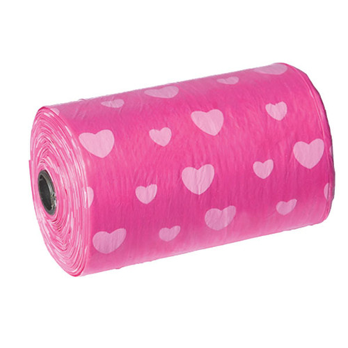 Pink Hearts Replacement Waste Bags