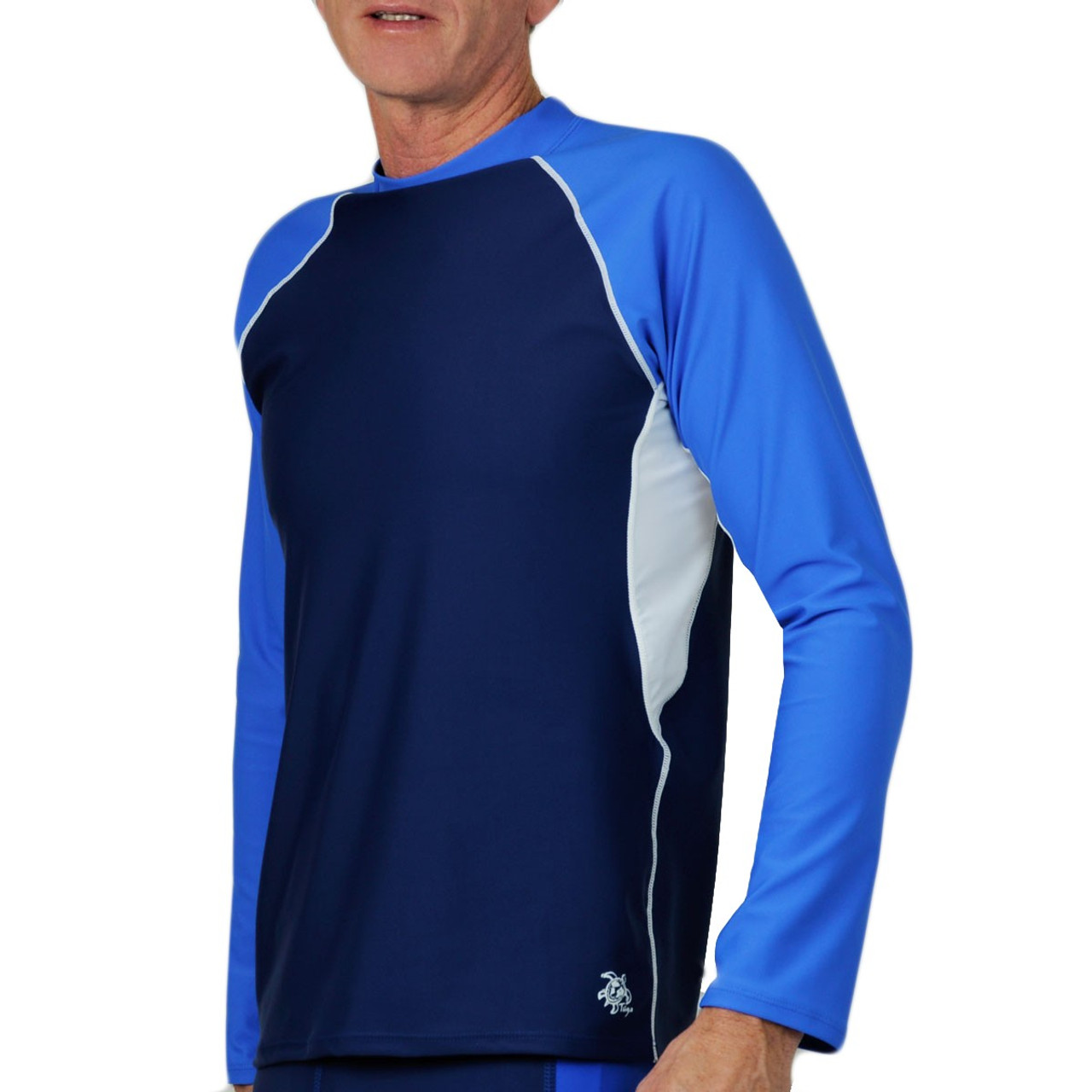 Mens Uv Swim Shirts Enam T Shirt