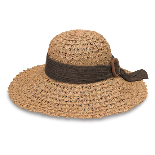Womens wallaroo Emma sun hat natural