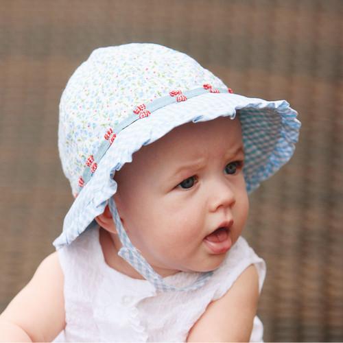 Wallaroo baby lorikeet upf50+ sun hat