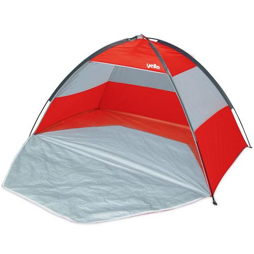 Yello UPF40 beach tent shelter red