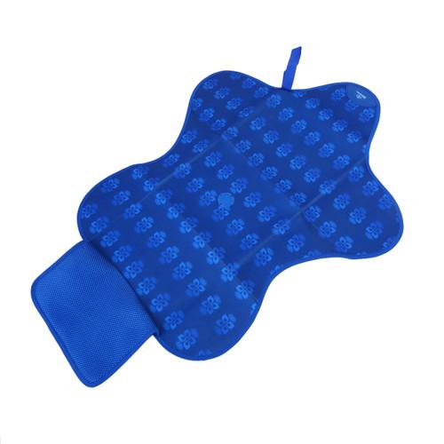 Bibetta star shaped changing mat blue