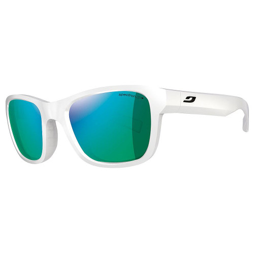 Julbo reach shiny white sunglasses