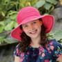 Girls Wallaroo UV Petite Scrunchie Hat (UPF50+)