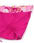 Tuga girls UV swim set surfer girl misty pink swim shorts