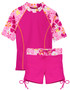 Tuga girls UV swim set surfer girl misty pink