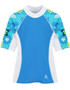 Girls Tuga seaside UV swim shirt cristillo