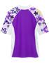 Girls Tuga seaside UV swim shirt agate back