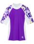 Girls Tuga seaside UV swim shirt agate