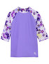 Tuga girls UV swim set Tropical Breeze Agate swim shirt
