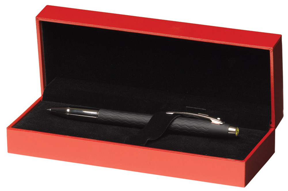 Sheaffer Ferrari 100 Tire Tread Rollerball Pen in gift box open