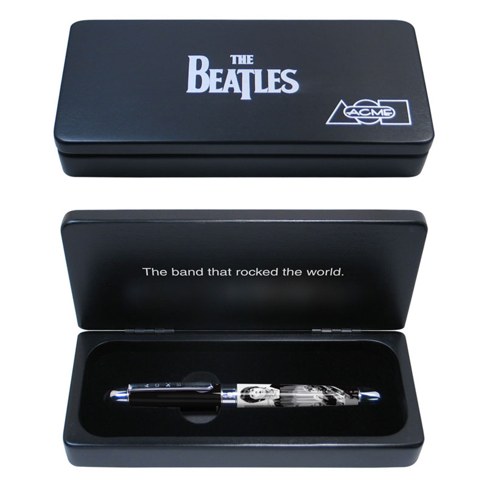 ACME The Beatles: 1966 Limited Edition Rollerball Pen in gift box