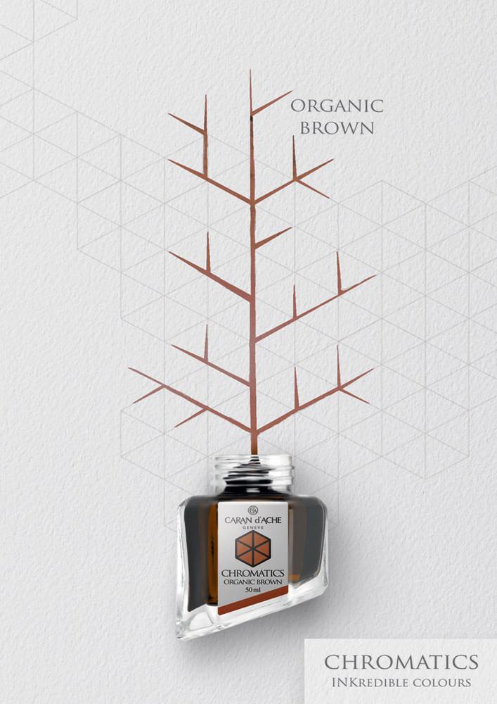 Caran d'Ache Organic Brown Ink Bottle