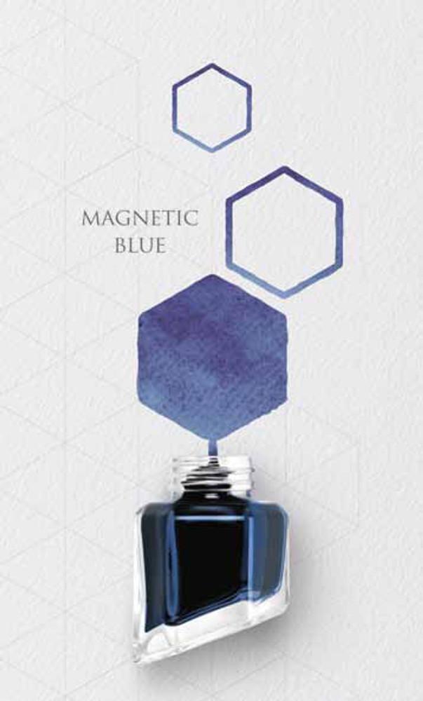 Caran d'Ache Magnetic Blue Ink Bottle 8011.149