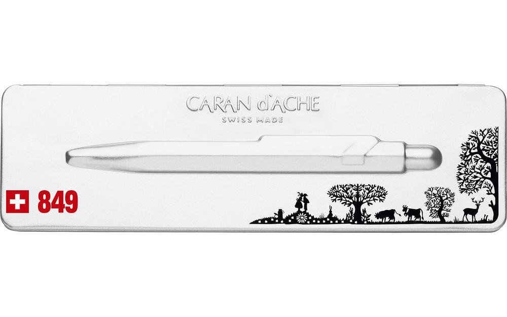 Caran d'Ache 849 TOTALLY SWISS PAPERCUT ballpoint pen