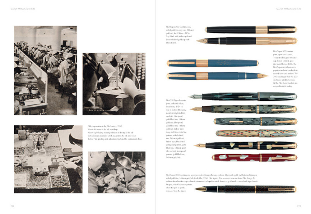 Fountain Pens of Japan pages 222-223