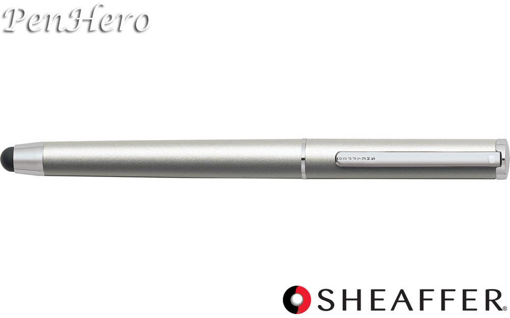 Sheaffer Stylus Matte Silver Featuring Chrome Plate Trim