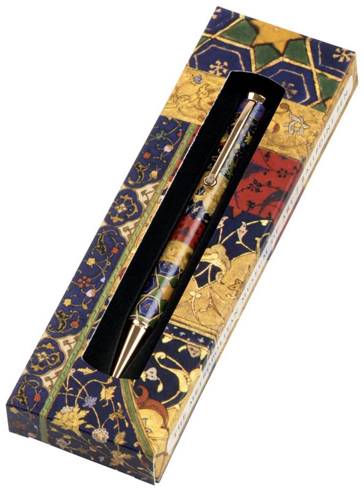 The Metropolitan Museum of Art Persian Patchwork Ballpoint Pen in gift box
