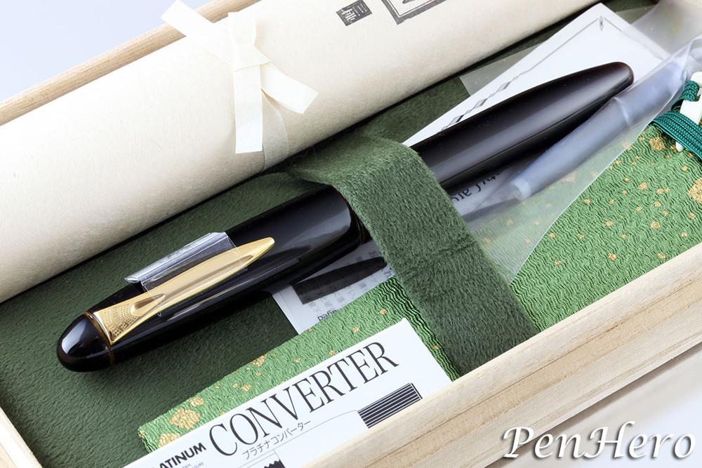 Platinum Izumo Biwatame (Tan) Fountain Pen