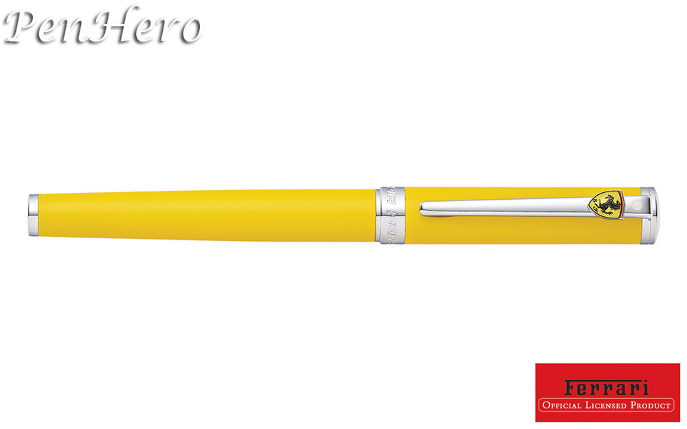Sheaffer Ferrari Intensity Satin Yellow Ballpoint Pen