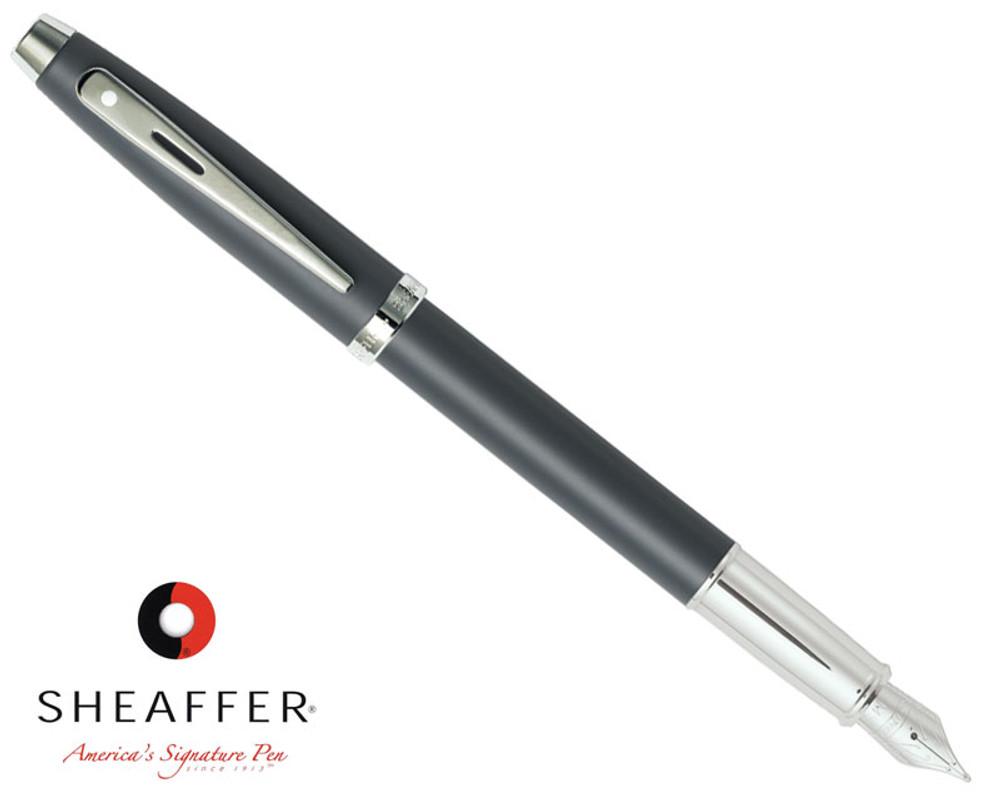 Sheaffer 100 Matte Grey Fountain Pen