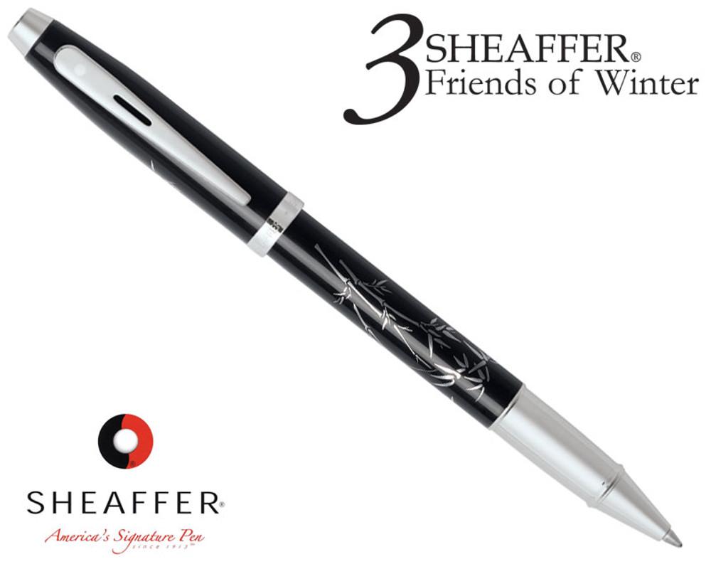 Sheaffer 100 3 Friends of Winter, Bamboo Design Rollerball Pen