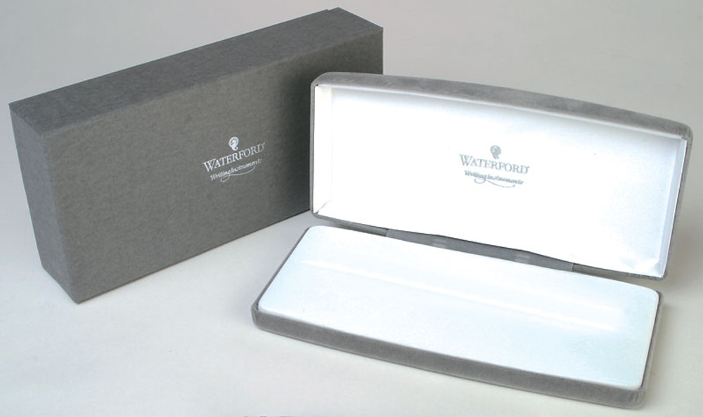 Waterford Kilbarry Guilloche Black Fountain Pen gift box