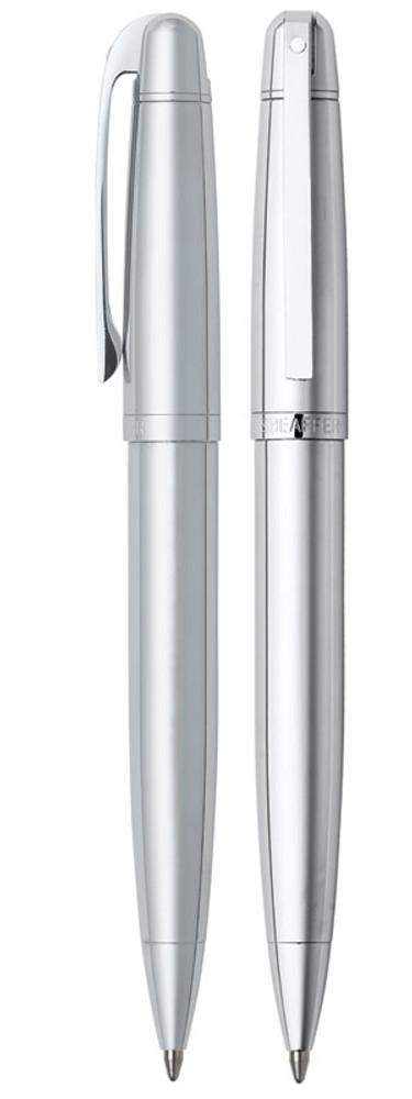 Sheaffer 500 Bright Chrome Ballpoint Pen
