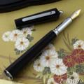Giuliano Mazzuoli Moka Black 3 in 1 Fountain Pen