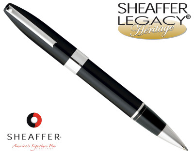 Sheaffer Legacy Heritage Black Laque P/T Rollerball Pen