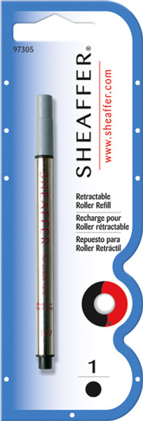 Sheaffer Retractable Rollerball Refills - Blue Medium - One Pack of Four