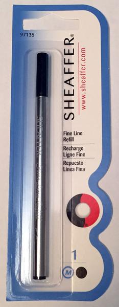 Sheaffer Fine Liner Rollerball Refills - Black Medium