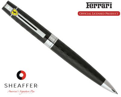 Sheaffer Ferrari 300 Checkered Flag Black Ballpoint Pen