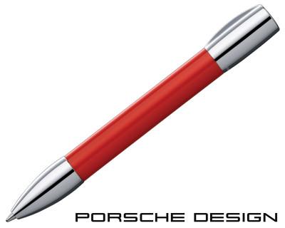 Porsche Design P3140 ShakePen Salsa Red Ballpoint Pen