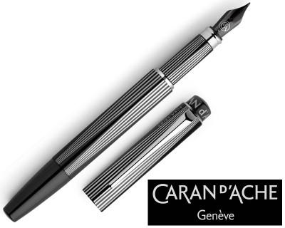 Caran d'Ache RNX.316 PVD Black Fountain Pen