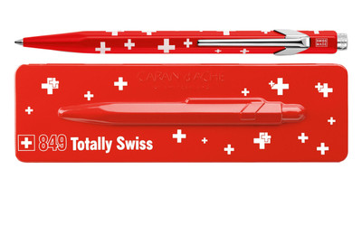 Caran d'Ache 849 TOTALLY SWISS ballpoint pen
