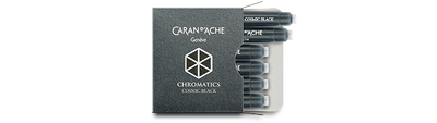 Caran d'Ache Cosmic Black Ink Cartridges