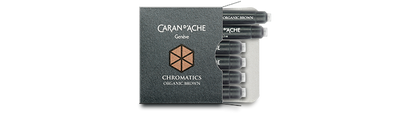 Caran d'Ache Organic Brown Ink Cartridges