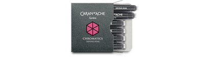 Caran d'Ache Divine Pink Ink Cartridges