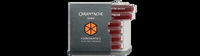 Caran d'Ache Electric Orange Ink Cartridges