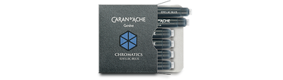 Caran d'Ache Idyllic Blue Ink Cartridges