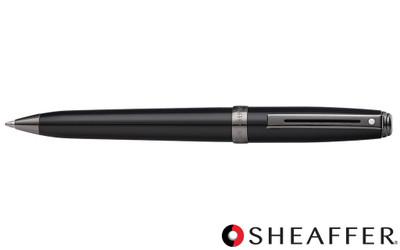 Sheaffer Prelude Black Lacquer Gunmetal Trim Ballpoint Pen