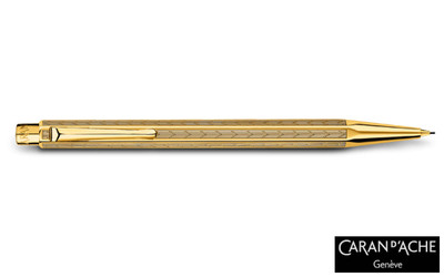Caran d'Ache Gold-plated Ecridor Chevron Mechanical Pencil