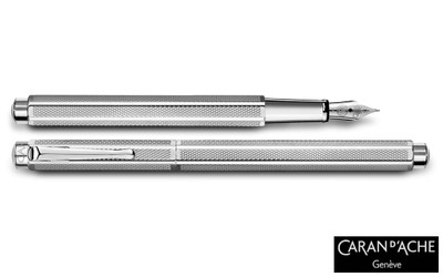 Caran d'Ache Palladium-coated Ecridor Retro Fountain Pen Fine