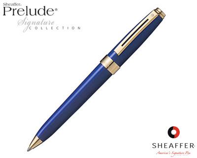 Sheaffer Prelude Signature Blue Laque G/T Ballpoint Pen