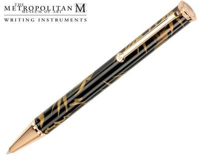 The Metropolitan Museum of Art Golden Bamboo Ballpoint Pen
